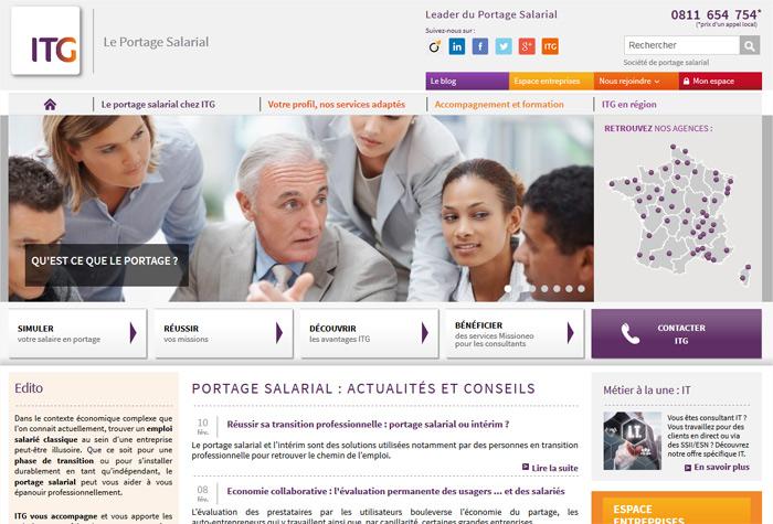 ITG Portage Salarial